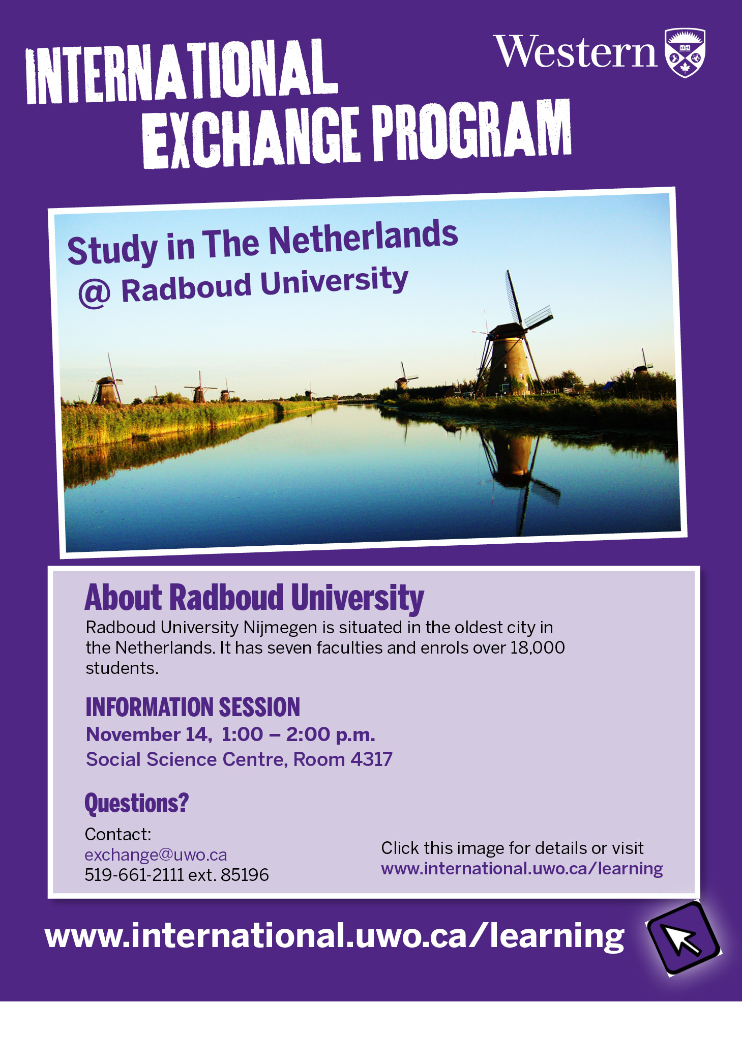 Radboud University Exchange Information Session