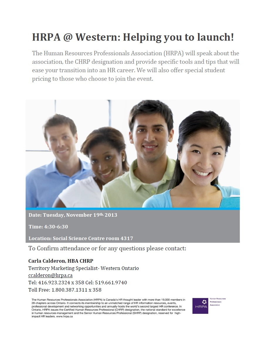 HRPA Information Session