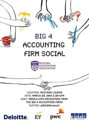 Big 4 Accounting Firm Social