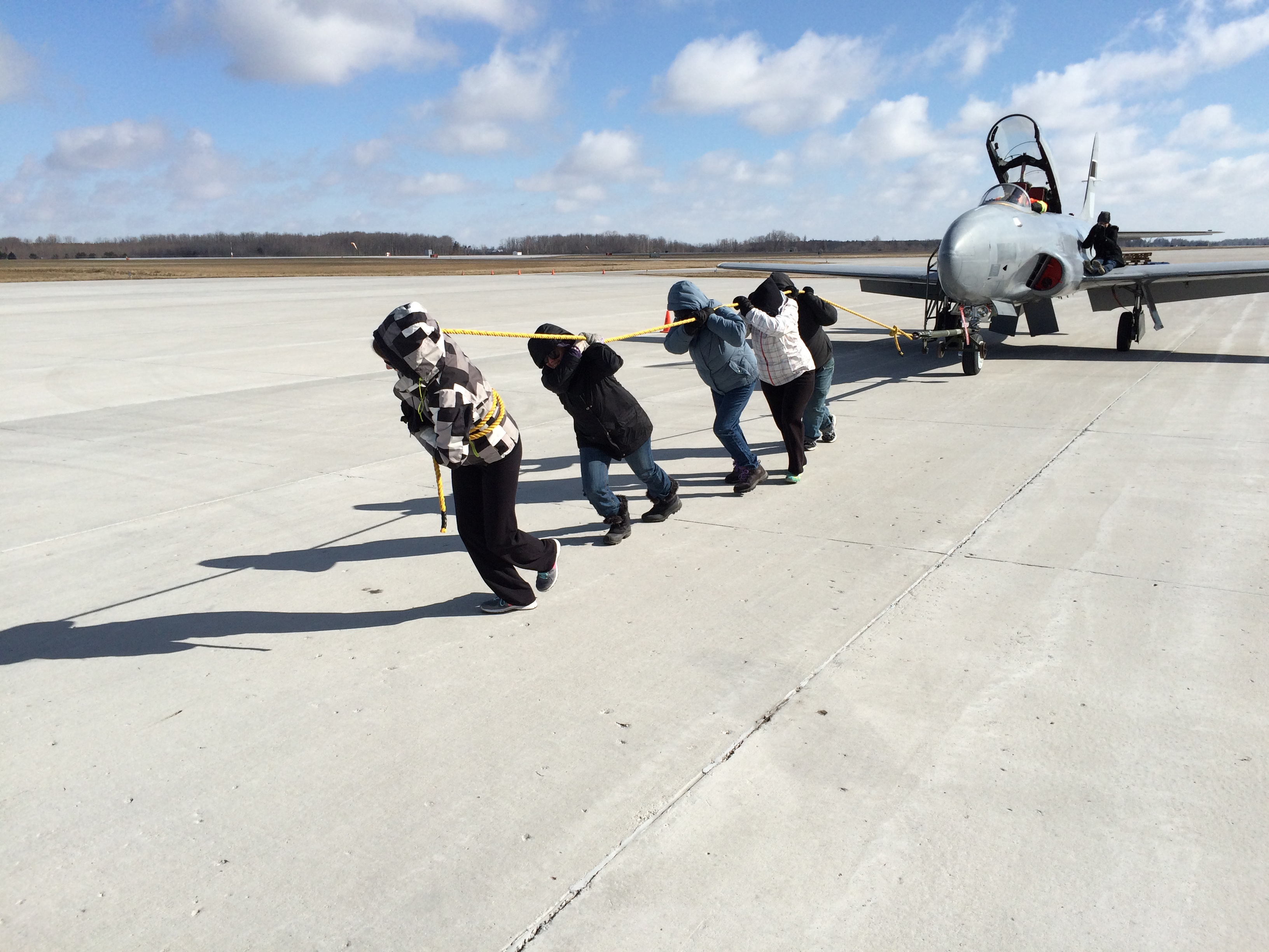 CAM Charity Jet Pull