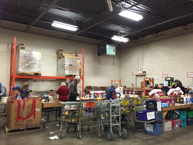 Food Bank Volunteering