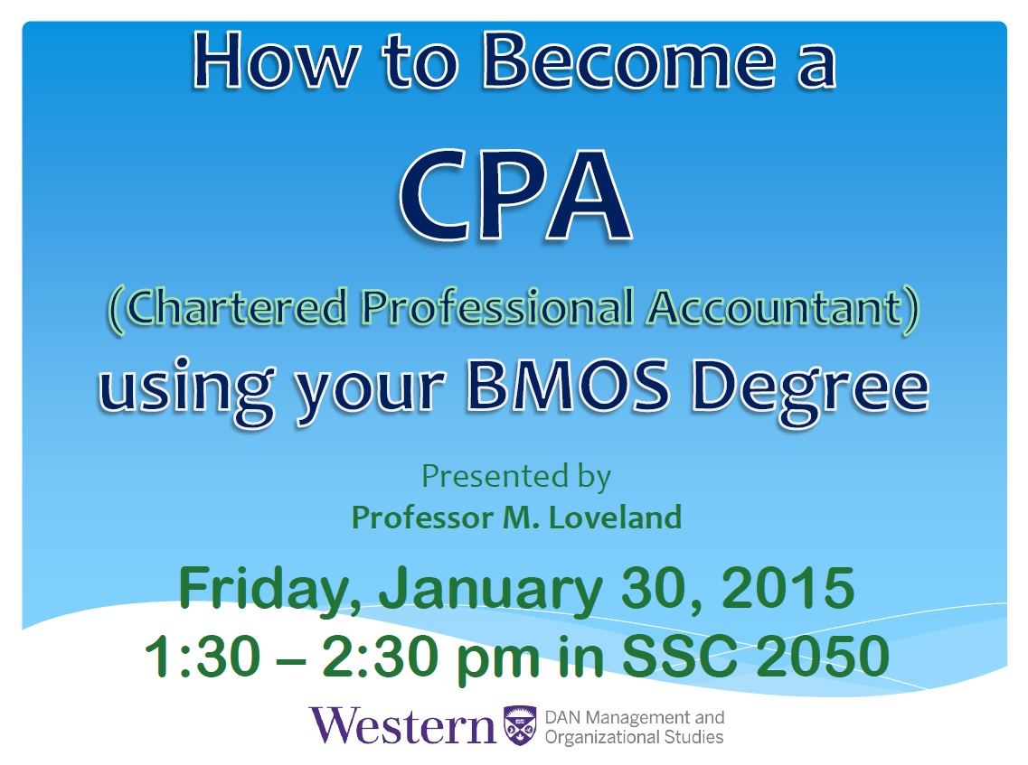 How to Become a CPA presentation