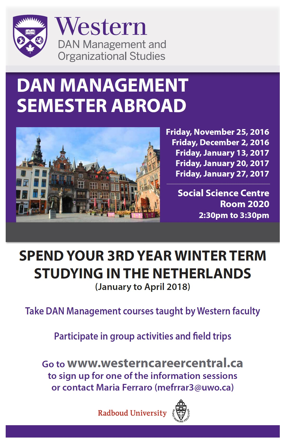 Semester Abroad Poster