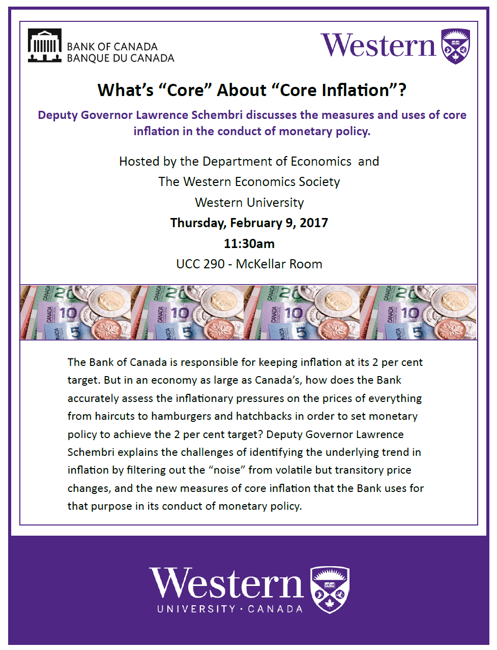 What's core about core inflation? poster
